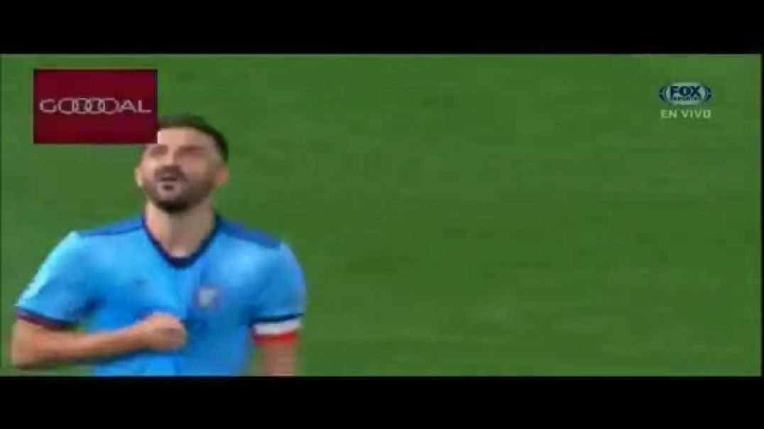 David Villa Goal New York City vs New York Red Bulls 1-1~2018