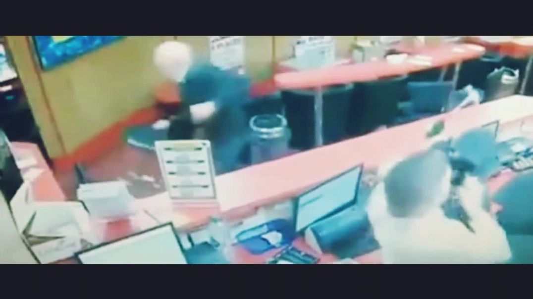 Fearless 83-year-old punter helps fight off three armed robbers at his bookmakers in Ireland