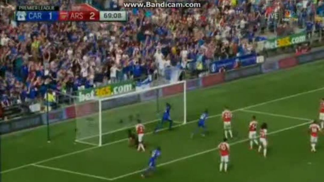 Arsenal-Cardiff City 2-2  cardars