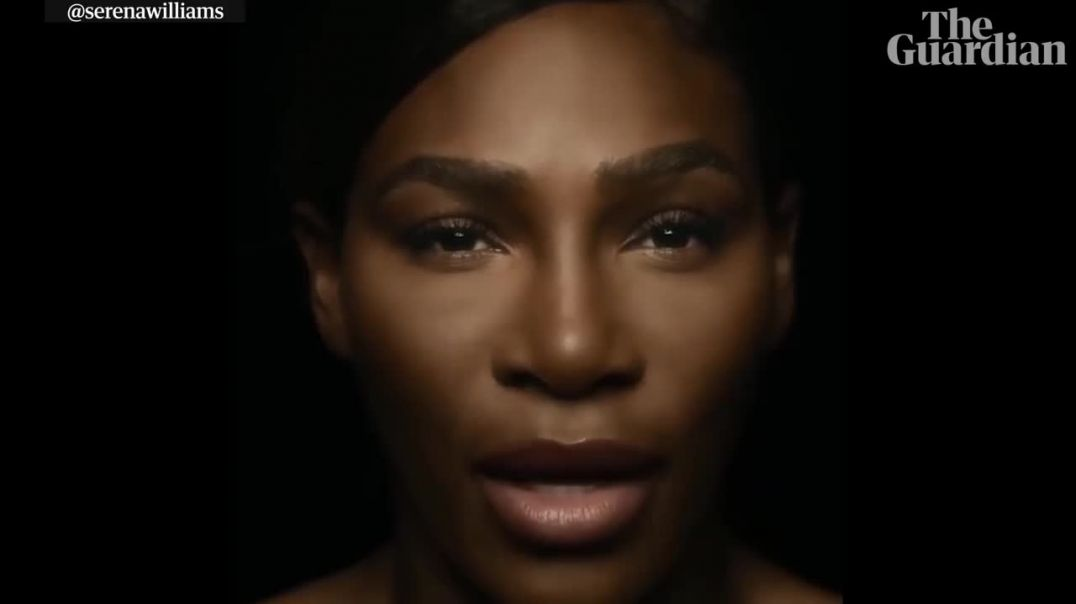 Serena Williams sings I Touch Myself topless to raise breast cancer awareness.mp4