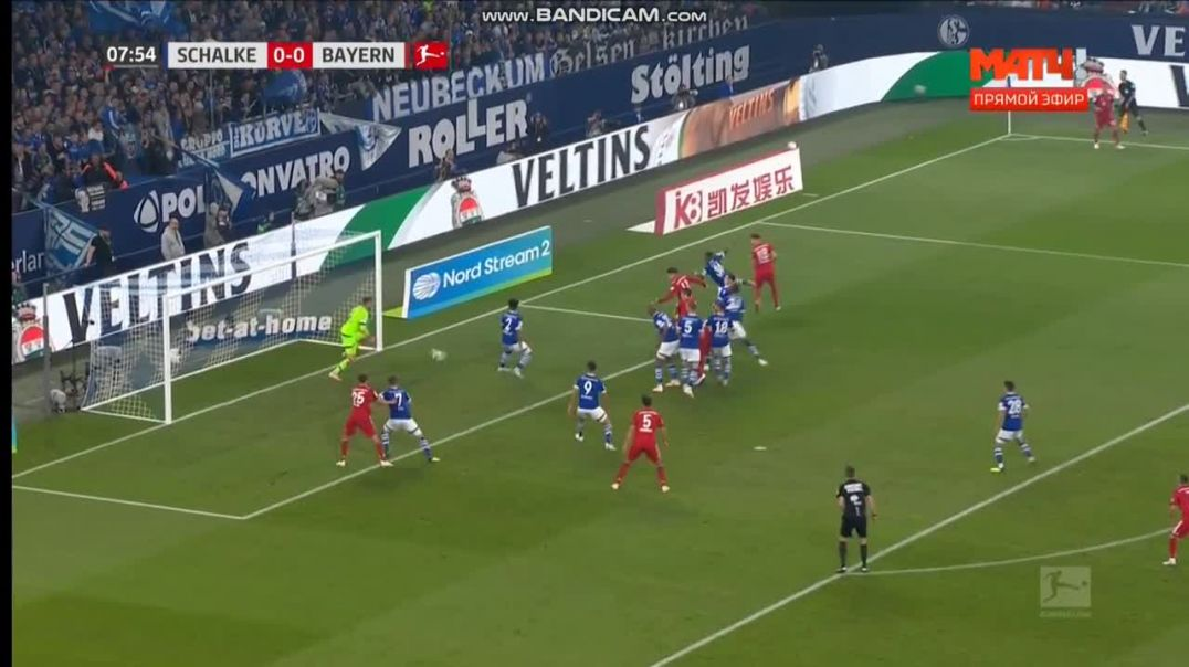 Schalke 04 vs Bayern Munich 0-1 - James Rodriguez Goal ( Bundesliga ) 22-09-2018 HD.mp4