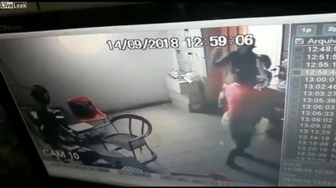 Kid takes part in robbery