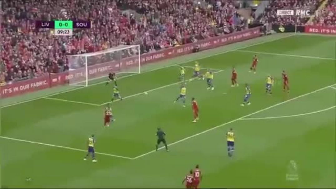 Wesley Hoedt Own Goal - Liverpool vs Southampton 1-0 /22/09/2018 HD