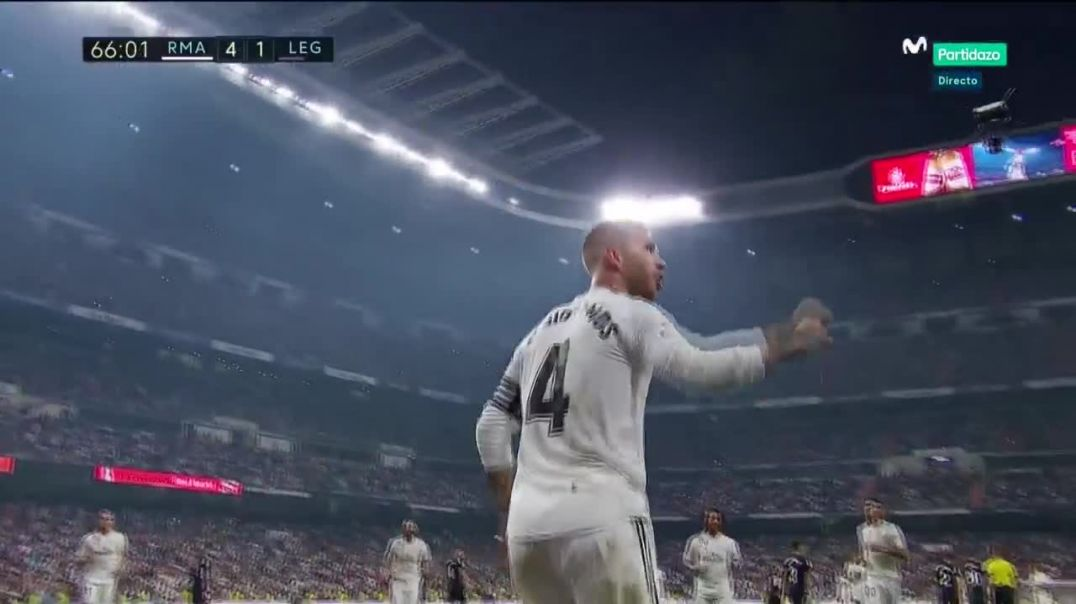 Real Madrid vs Leganés 4-1 Goal RAMOS 01-09-2018 HD.mp4