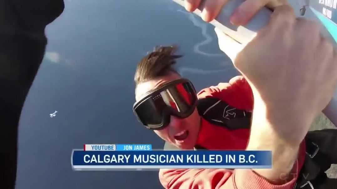 Canadian rapper Jon James dies after falling off airplane wing in failed stunt