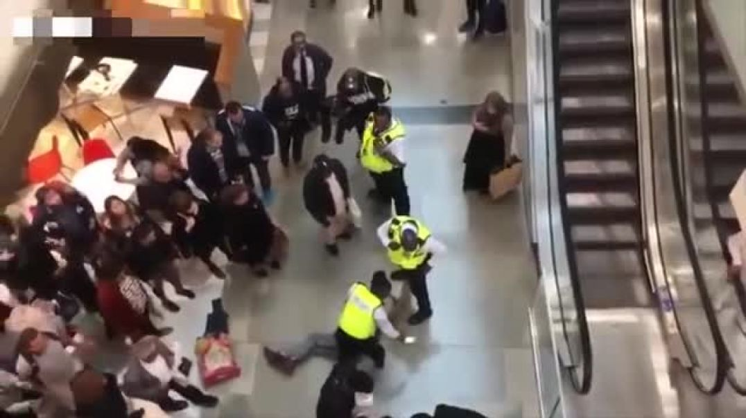 Woman crushed by man 'falling from upper floor' at Westfield in Stratford