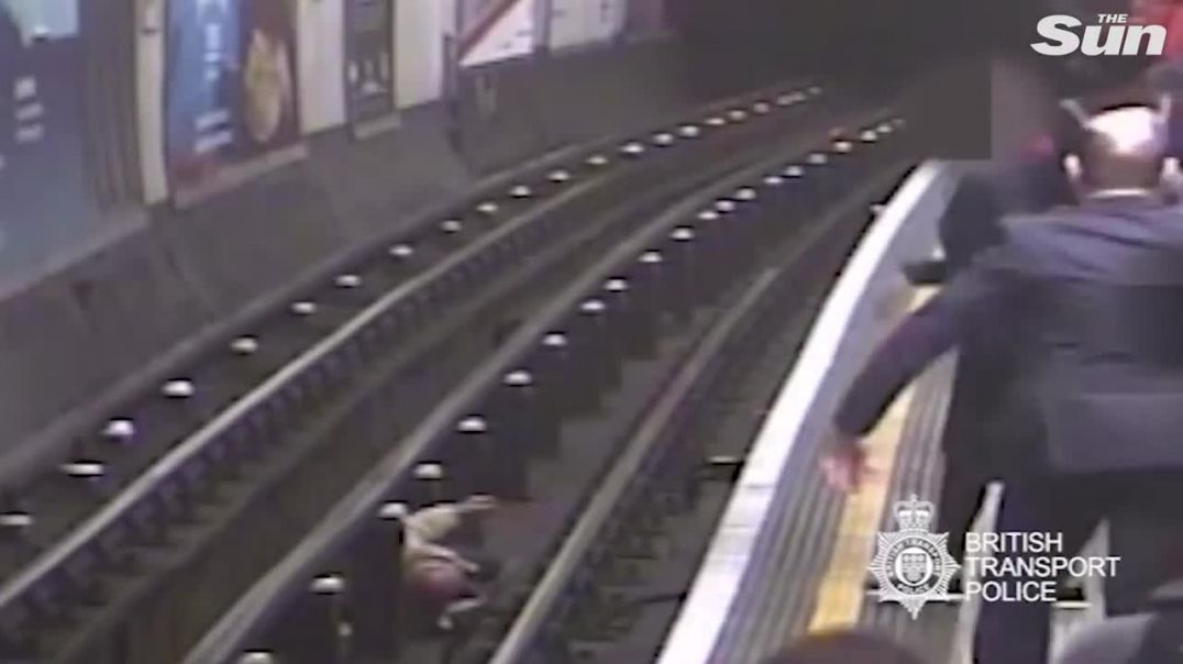 Tube train pusher convicted of attempted murder.mp4