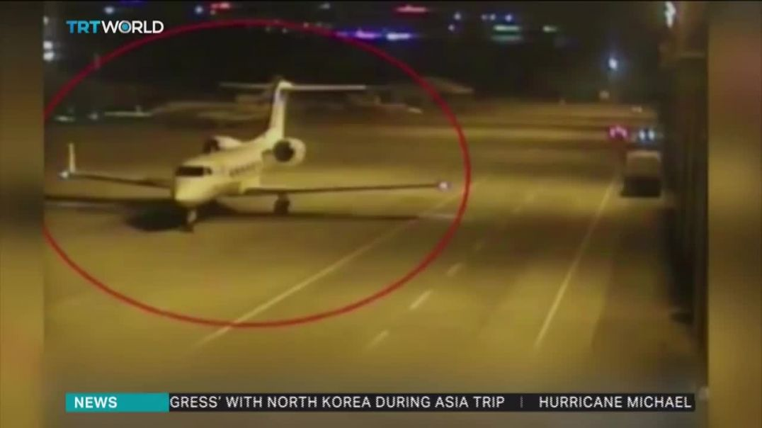 In Khashoggi case, video shows Ataturk airport, Saudi consulate, van.mp4