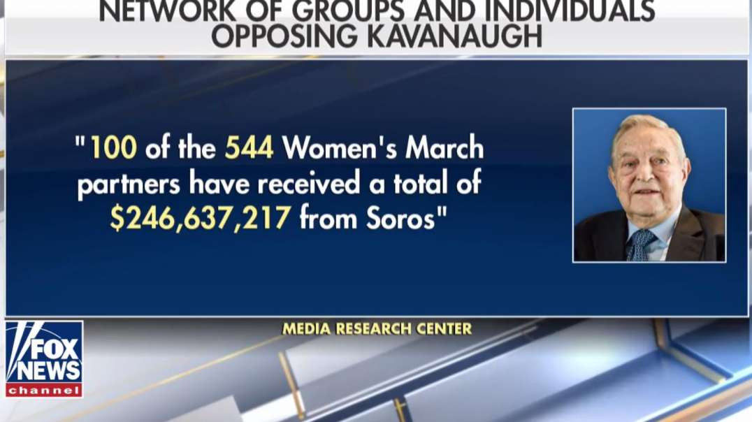 What Role Is George Soros Playing in Anti-Kavanaugh Protests