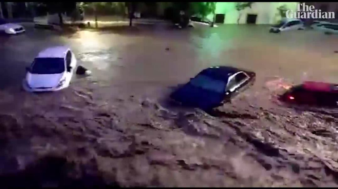 Mallorca hit by deadly flash floods.mp4