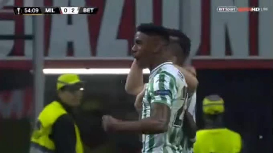 Giovani Lo Celso SUPER GOAL AC Milan 0-2 Betis 25.10.2018.mp4