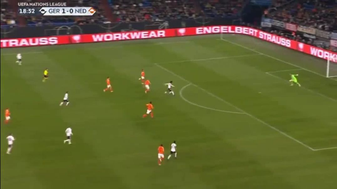 Leroy Sané goal Germany vs Netherlands 2-0.mp4