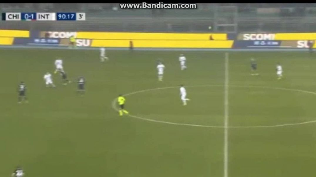 Chievo vs Inter 1-1 Pellissier  Goal.mp4