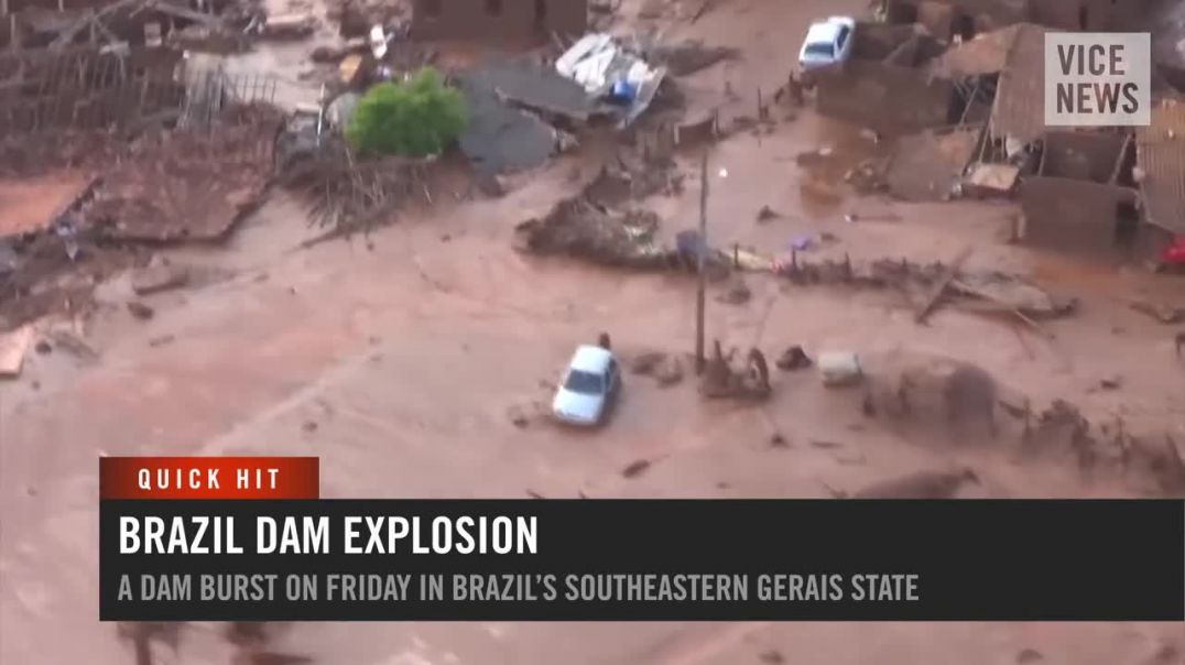 Dozens Missing Following Brazil Dam Collapse- VICE News Quick Hit.mp4