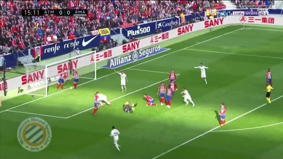 Casemiro  Goal Atletico Madrid vs Real Madrid 0-1.mp4