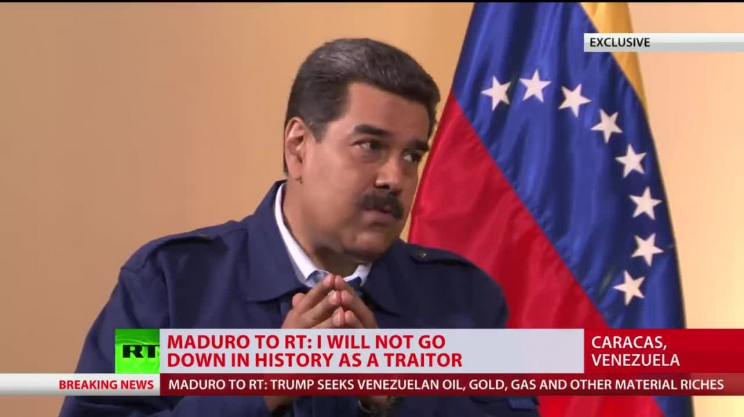 Oil, gold & other riches behind Trump's Venezuela crusade - Maduro (PROMO).mp4