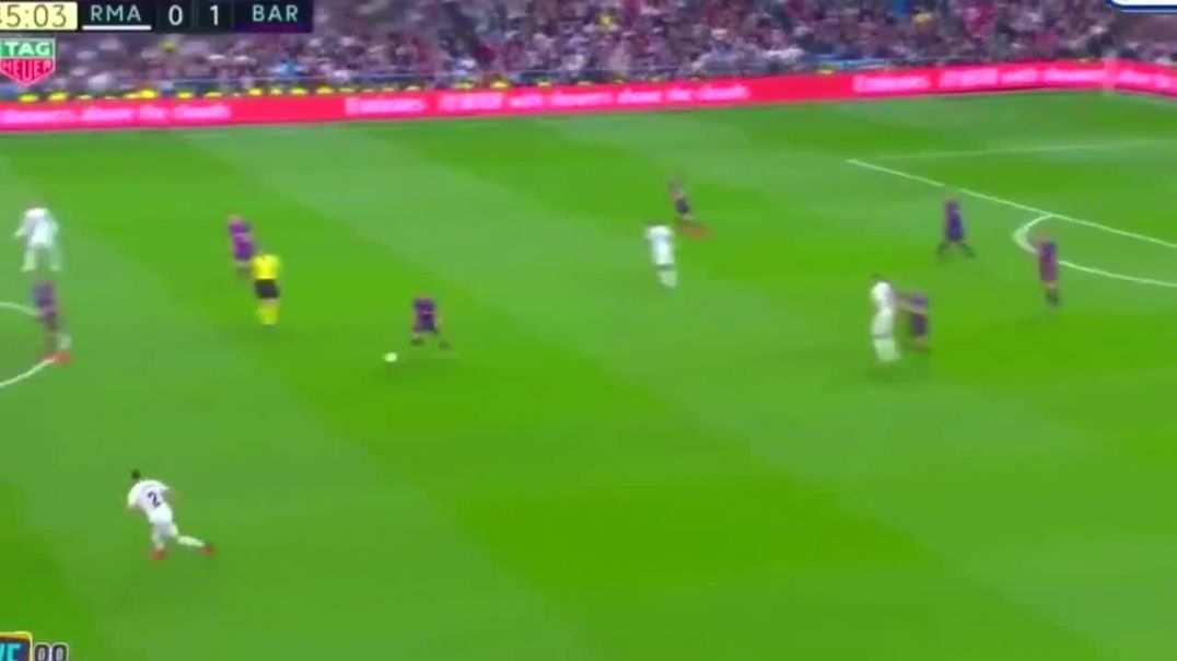 Lionel Messi vs Sergio Ramos FIGHT! El Clasico Real Madrid vs Barcelona 0-1.mp4