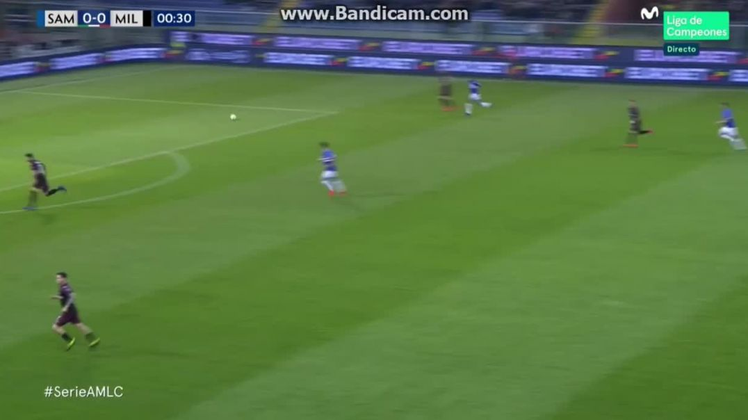 Gregoire Defrel Goal - Sampdoria vs Milan 1-0 (Serie A)  Donaruma Fail 30032019 HD (1).mp4