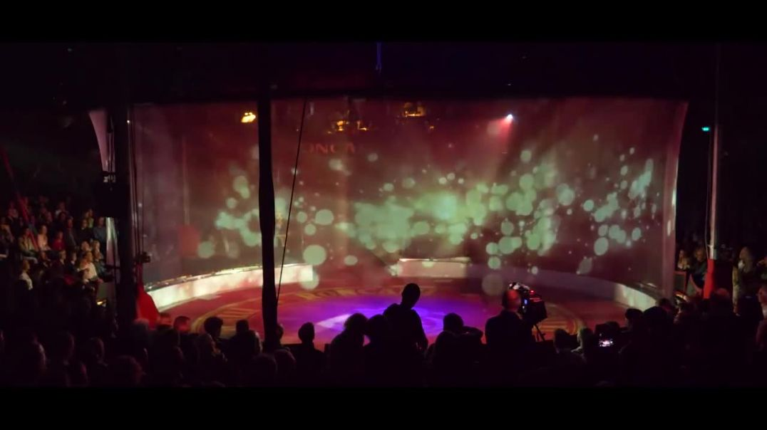 Optoma impresses audiences with a holographic circus experience.mp4