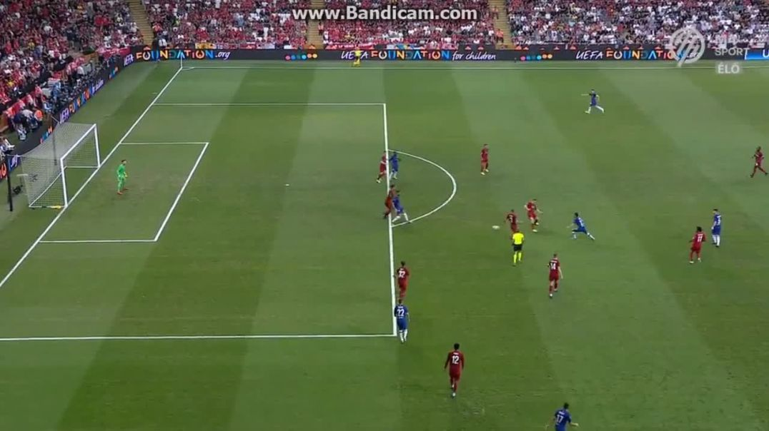 Pedro Crossbar Liverpool Chelsea  0  -  0.mp4