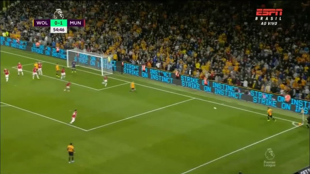 Wolves Ruben Neves Goal Vs Manchester United 1 - 1 19-08-19 (HD).mp4