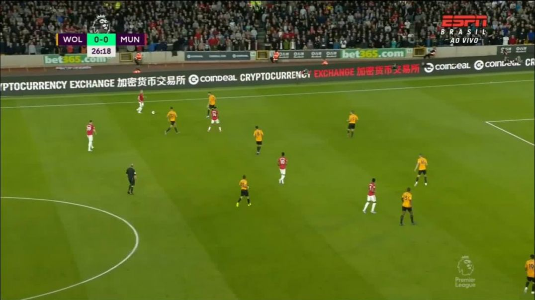 Wolverhampton vs Manchester United (0-1) - Gol de Martial - Premier League 2019-20.mp4