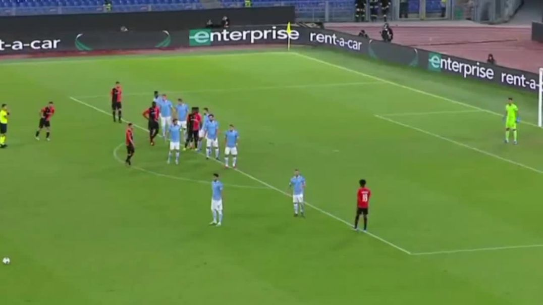 Lazio vs Rennes 0-1 Morel GOAL.mp4