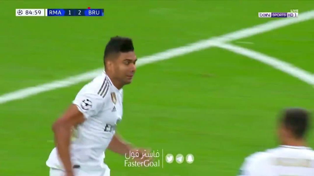 Real Madrid vs Club Brugge   22  Casemiro.mp4