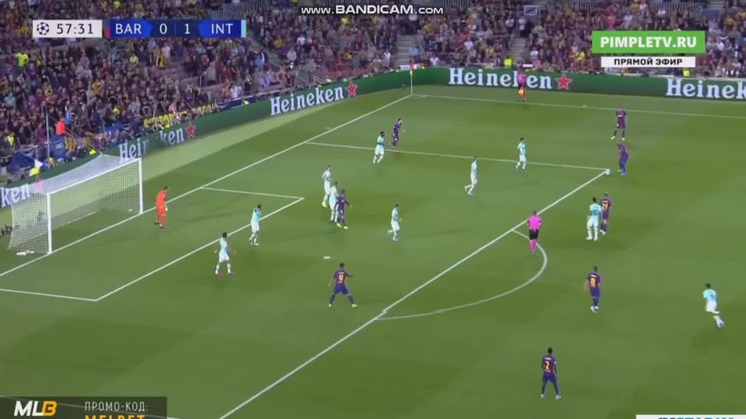 Suarez Goal Barcelona vs Inter 1-1 Champions League.mp4