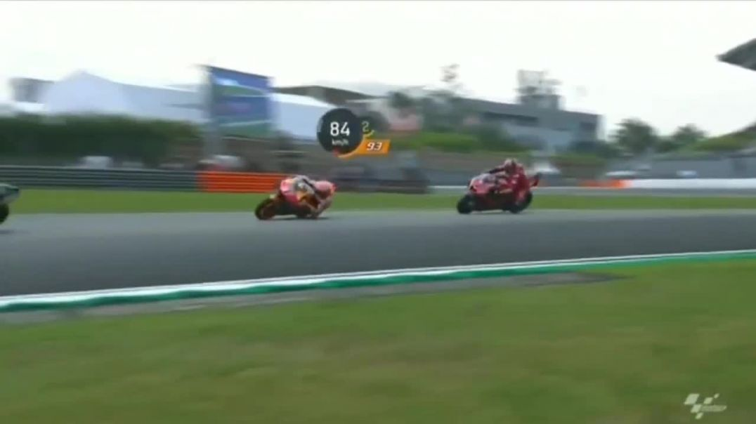 Marc Marquez Horrific Crash