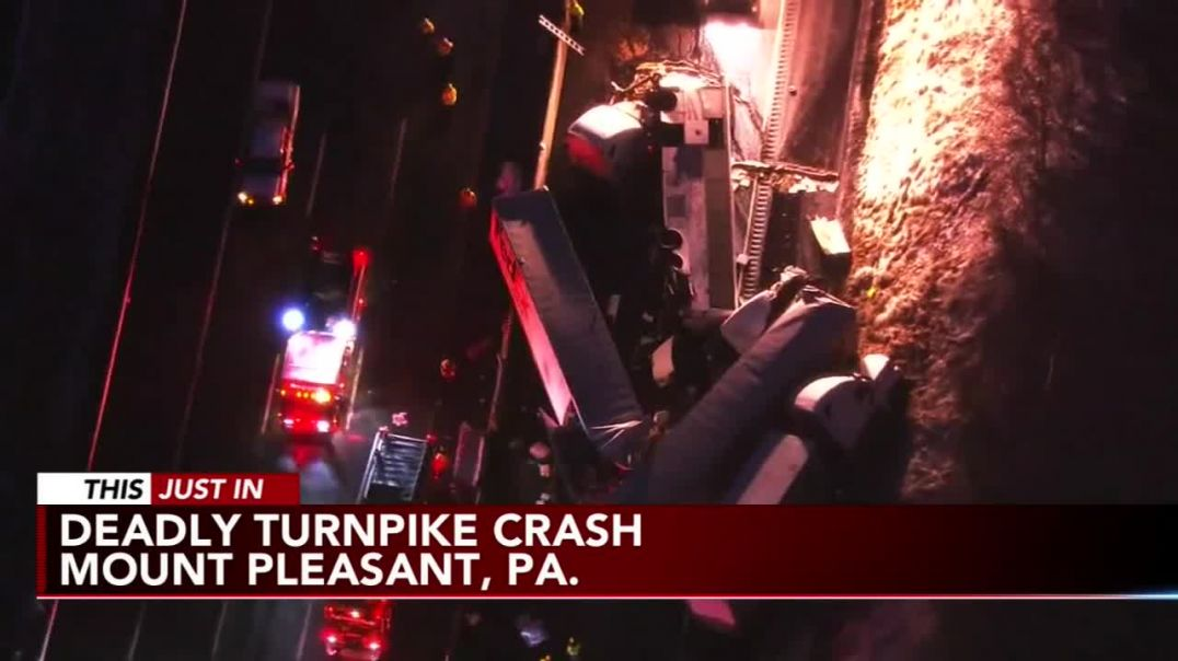 5 dead, dozens hospitalized in Pennsylvania Turnpike crash.mp4