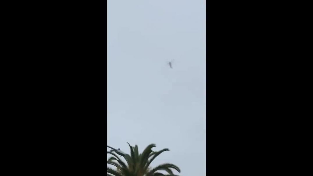Footage Shows Helicopter Carrying Kobe Bryant Circling Over Glendale Before Deadly Crash.mp4