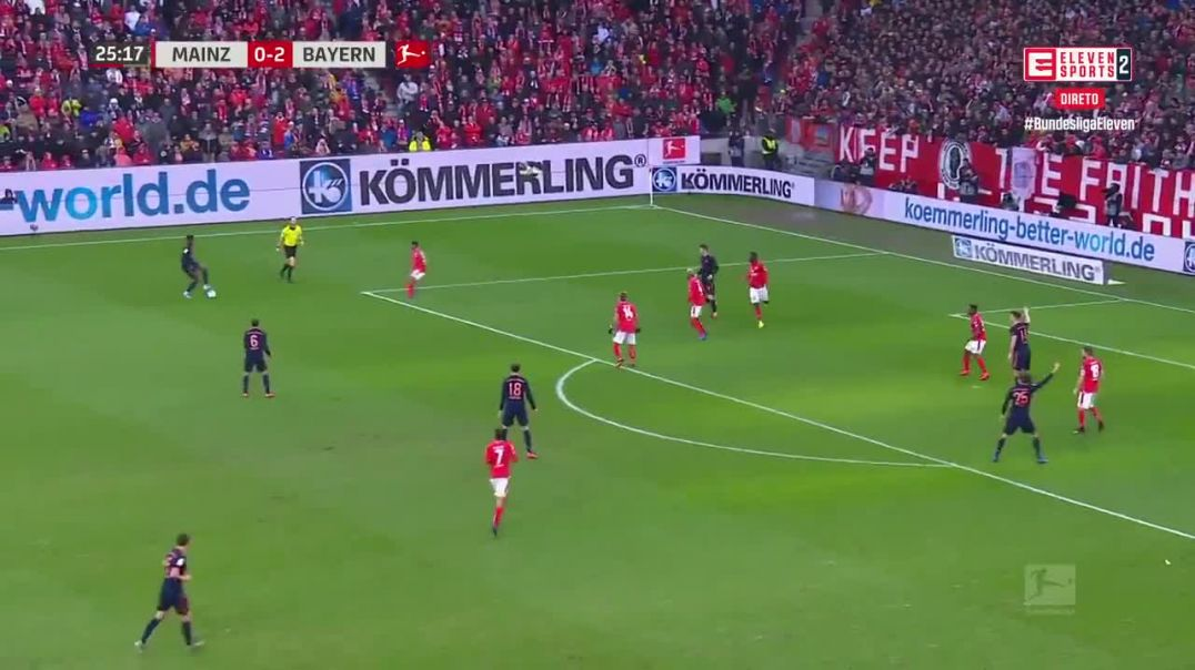 Thiago Alcantara Goal vs Mainz 1st February 2020.mp4
