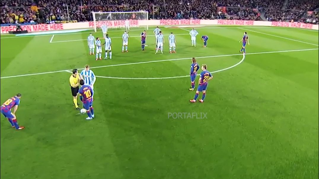 Messi vs Sociedad