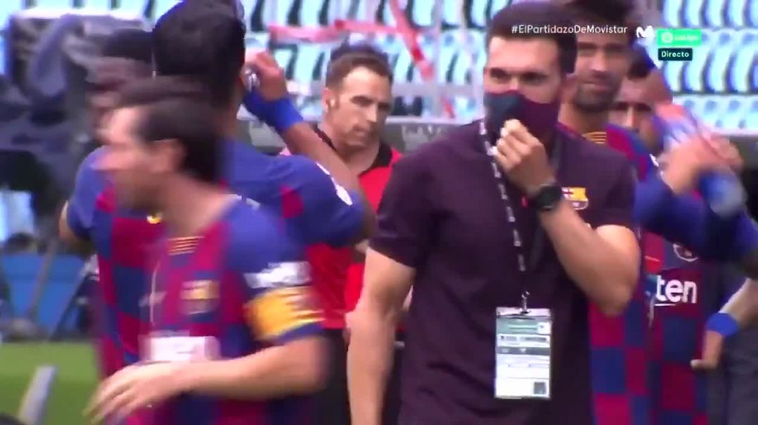 Messi disrespect ignores coach instructions (qique setien).mp4