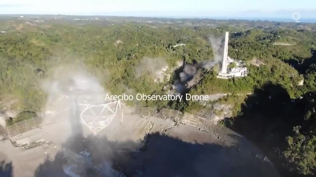 Telescope Crashes Down at Arecibo Observatory in Puerto Rico