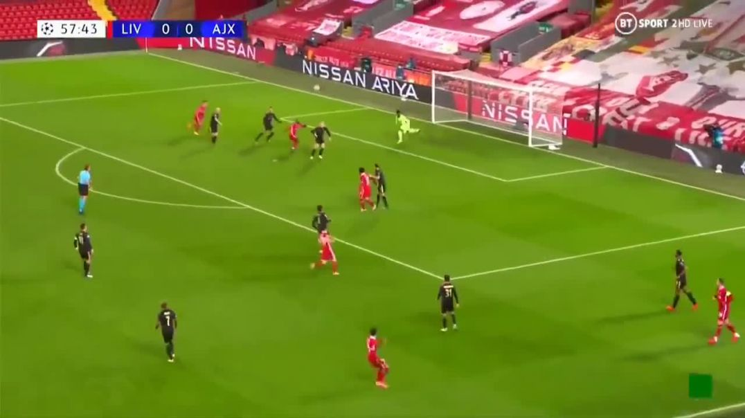 Curtis Jones goal - Liverpool vs ajax 1-0.mp4