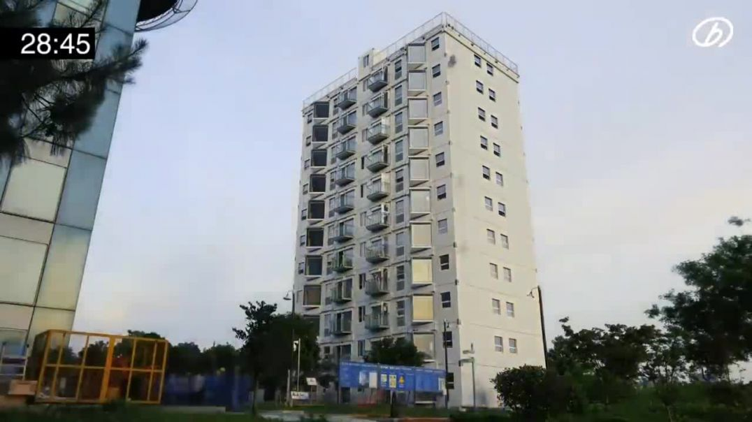 Chinese developer builds 10 storey building in 28 hours