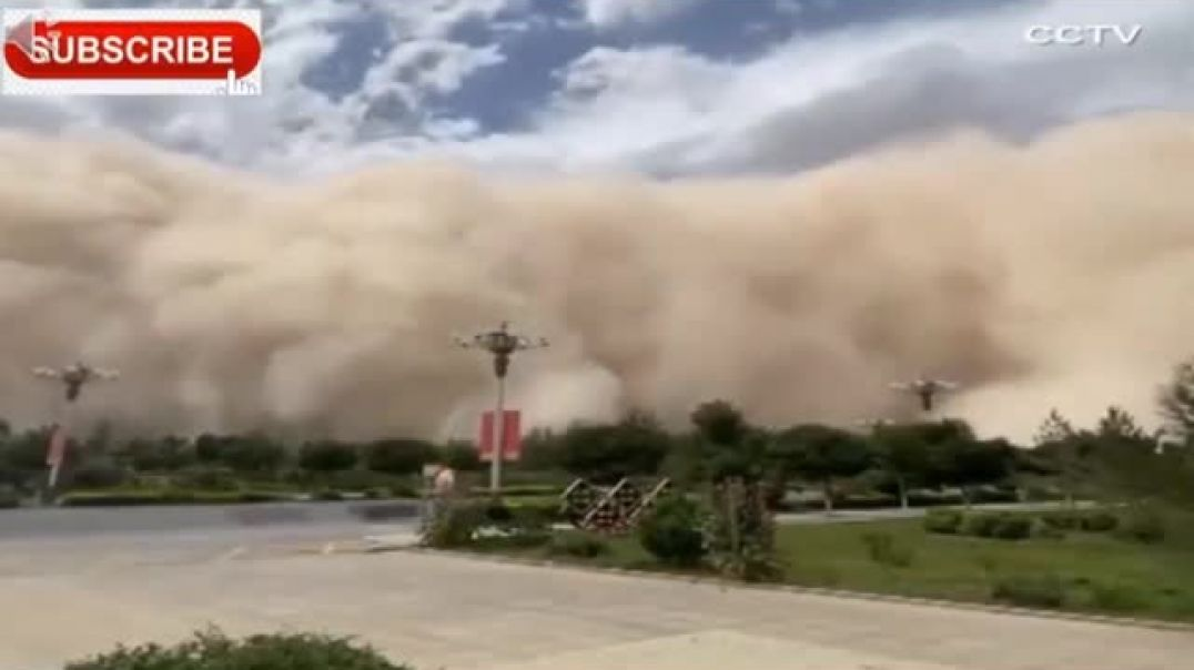 Sand Storm in US